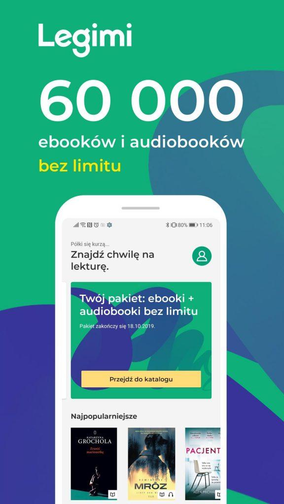 Wypożyczaj ebooki z Legimi w bibliotece